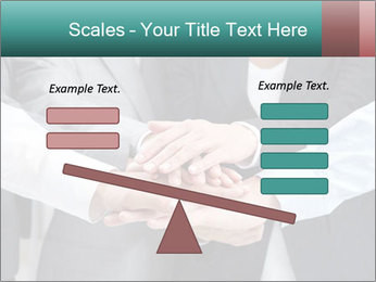 Business people hands PowerPoint Template - Slide 89