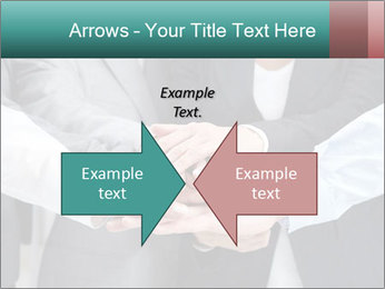 Business people hands PowerPoint Templates - Slide 90