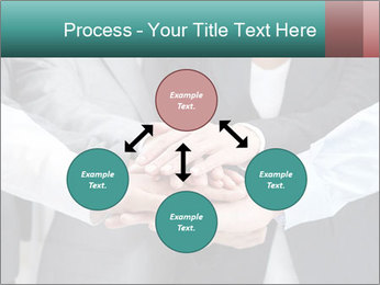 Business people hands PowerPoint Template - Slide 91