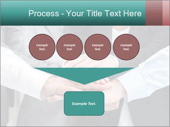 Business people hands PowerPoint Template - Slide 93