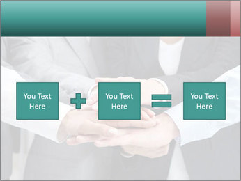 Business people hands PowerPoint Template - Slide 95