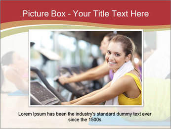 Fitness club PowerPoint Templates - Slide 16