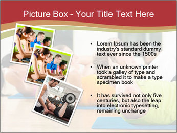 Fitness club PowerPoint Templates - Slide 17