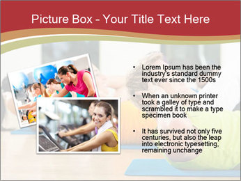 Fitness club PowerPoint Templates - Slide 20