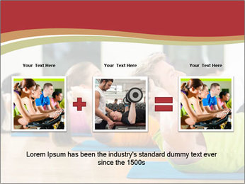 Fitness club PowerPoint Templates - Slide 22