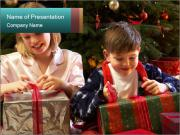 Christmas Present PowerPoint Template
