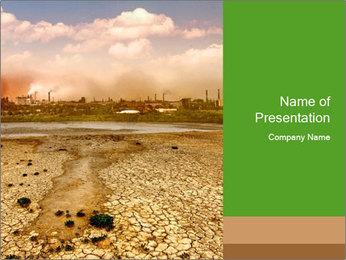 Industrial destruction PowerPoint Template - Slide 1