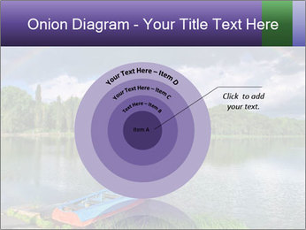 Rainbow over the lake PowerPoint Template - Slide 61