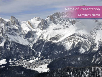 0000087064 PowerPoint Template - Slide 1