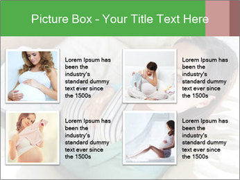 Young pregnant woman PowerPoint Template - Slide 14