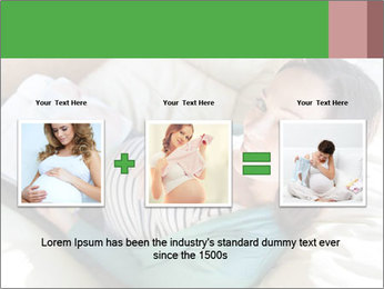 Young pregnant woman PowerPoint Template - Slide 22