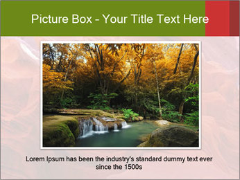 Fiery color in the stone PowerPoint Template - Slide 15