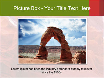 Fiery color in the stone PowerPoint Template - Slide 16
