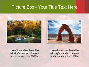Fiery color in the stone PowerPoint Template - Slide 18
