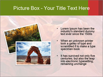 Fiery color in the stone PowerPoint Template - Slide 20