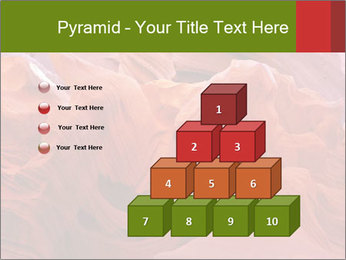 Fiery color in the stone PowerPoint Templates - Slide 31