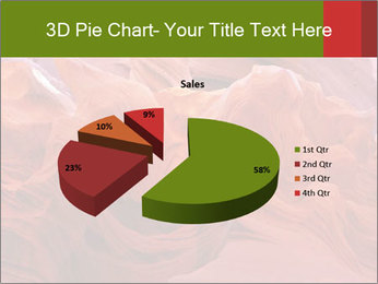 Fiery color in the stone PowerPoint Template - Slide 35