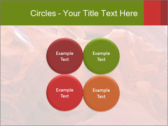 Fiery color in the stone PowerPoint Template - Slide 38