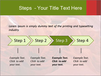 Fiery color in the stone PowerPoint Template - Slide 4