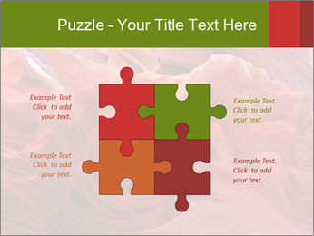 Fiery color in the stone PowerPoint Template - Slide 43