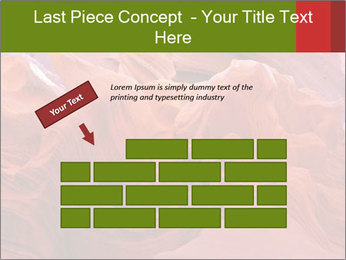 Fiery color in the stone PowerPoint Template - Slide 46