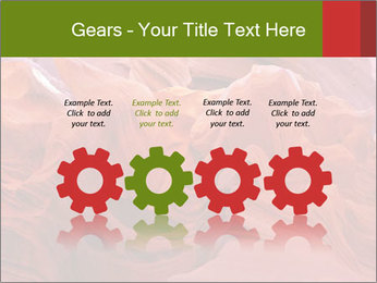 Fiery color in the stone PowerPoint Template - Slide 48