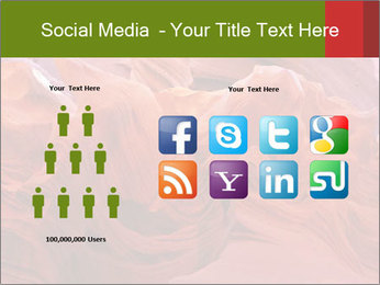 Fiery color in the stone PowerPoint Template - Slide 5