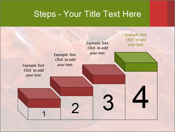 Fiery color in the stone PowerPoint Template - Slide 64