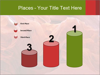 Fiery color in the stone PowerPoint Template - Slide 65