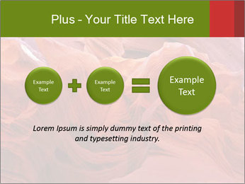 Fiery color in the stone PowerPoint Template - Slide 75