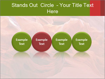 Fiery color in the stone PowerPoint Template - Slide 76