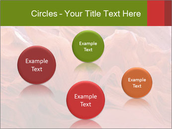 Fiery color in the stone PowerPoint Template - Slide 77