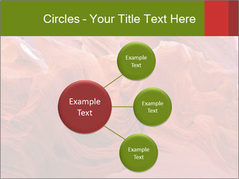 Fiery color in the stone PowerPoint Template - Slide 79