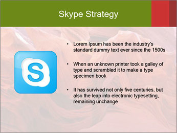 Fiery color in the stone PowerPoint Template - Slide 8