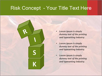 Fiery color in the stone PowerPoint Template - Slide 81