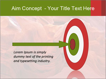 Fiery color in the stone PowerPoint Template - Slide 83