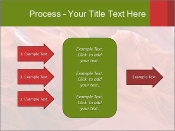 Fiery color in the stone PowerPoint Template - Slide 85