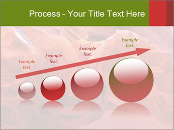 Fiery color in the stone PowerPoint Template - Slide 87