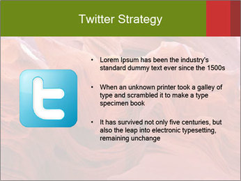 Fiery color in the stone PowerPoint Template - Slide 9