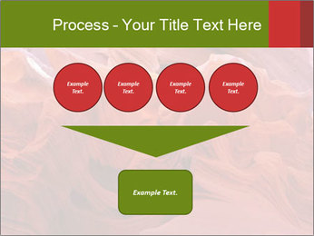Fiery color in the stone PowerPoint Template - Slide 93