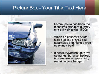 The car after failure PowerPoint Template - Slide 13