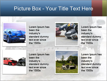 The car after failure PowerPoint Template - Slide 14
