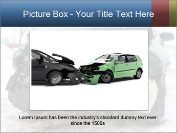 The car after failure PowerPoint Template - Slide 15
