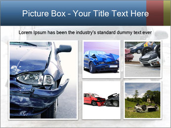 The car after failure PowerPoint Template - Slide 19