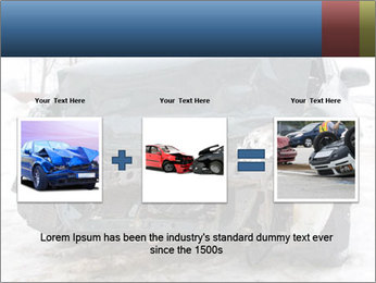 The car after failure PowerPoint Template - Slide 22
