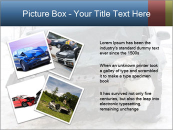 The car after failure PowerPoint Template - Slide 23