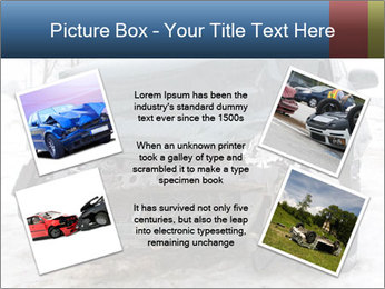 The car after failure PowerPoint Template - Slide 24
