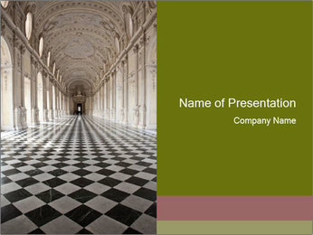Royal Palace PowerPoint Template - Slide 1