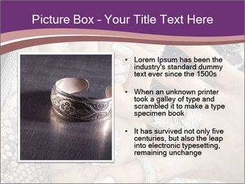 Hands with accessory PowerPoint Template - Slide 13