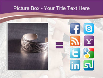 Hands with accessory PowerPoint Template - Slide 21
